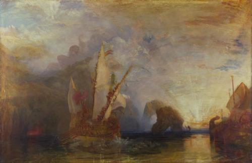 Ulysses deriding Polyphemus- Homer's OdysseyJoseph Mallord William Turner, 1775 - 18511829