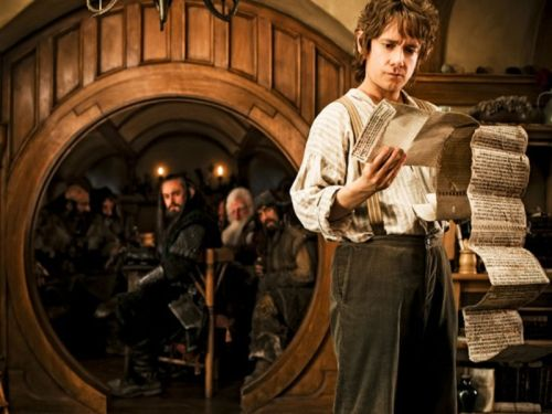 Martin Freeman as Bilbo Baggins, THE Hobbit.
